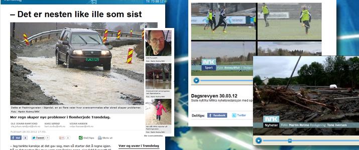 Utplassert hos NRK